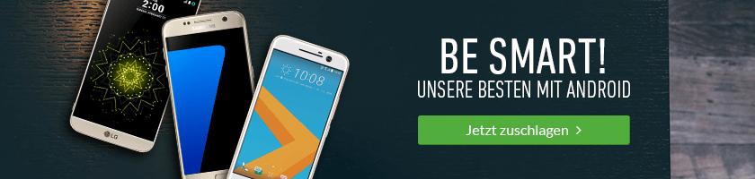 Unsere besten Android-Smartphones