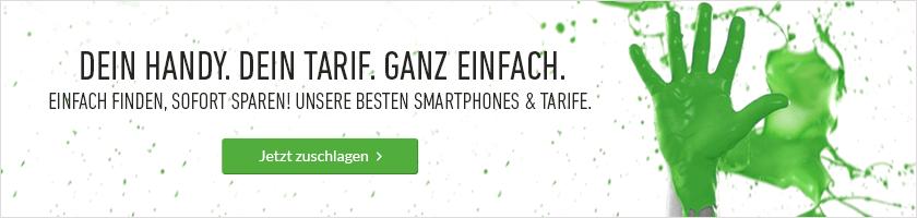 Die besten Smartphones und Tarife bei deinhandy.de
