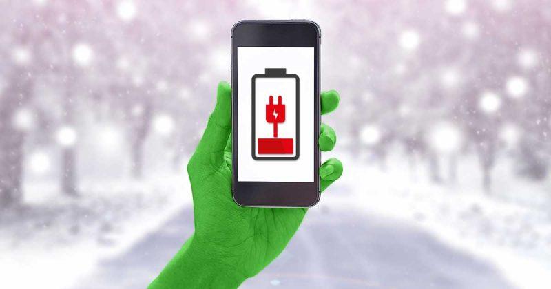 Smartphone Winter