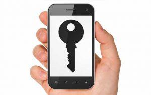Schlüssel Smartphone