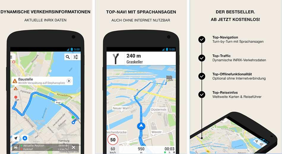Platz 4: GPS Navigation & Maps – Scout