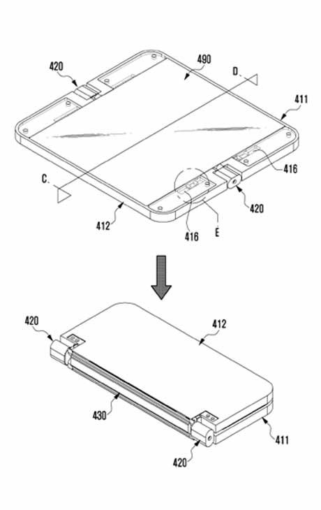 faltbares Smartphone