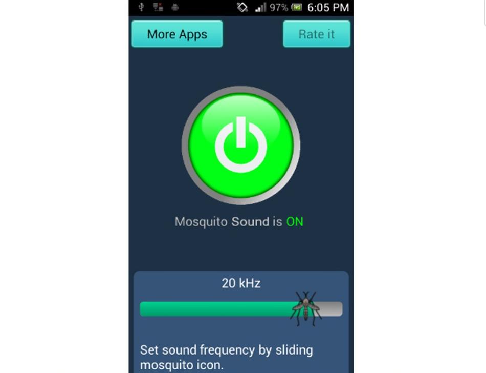 2. Anti Mücken Geräusch