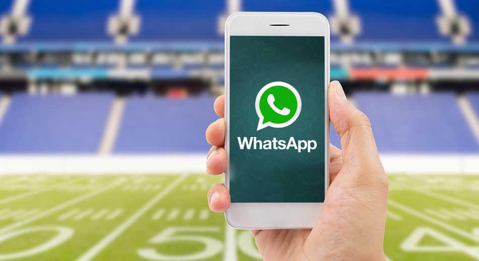 10 Milliarden Whats-App-Nachrichten beim Finale