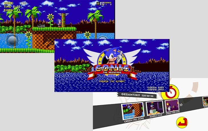 Retro-Games Sonic