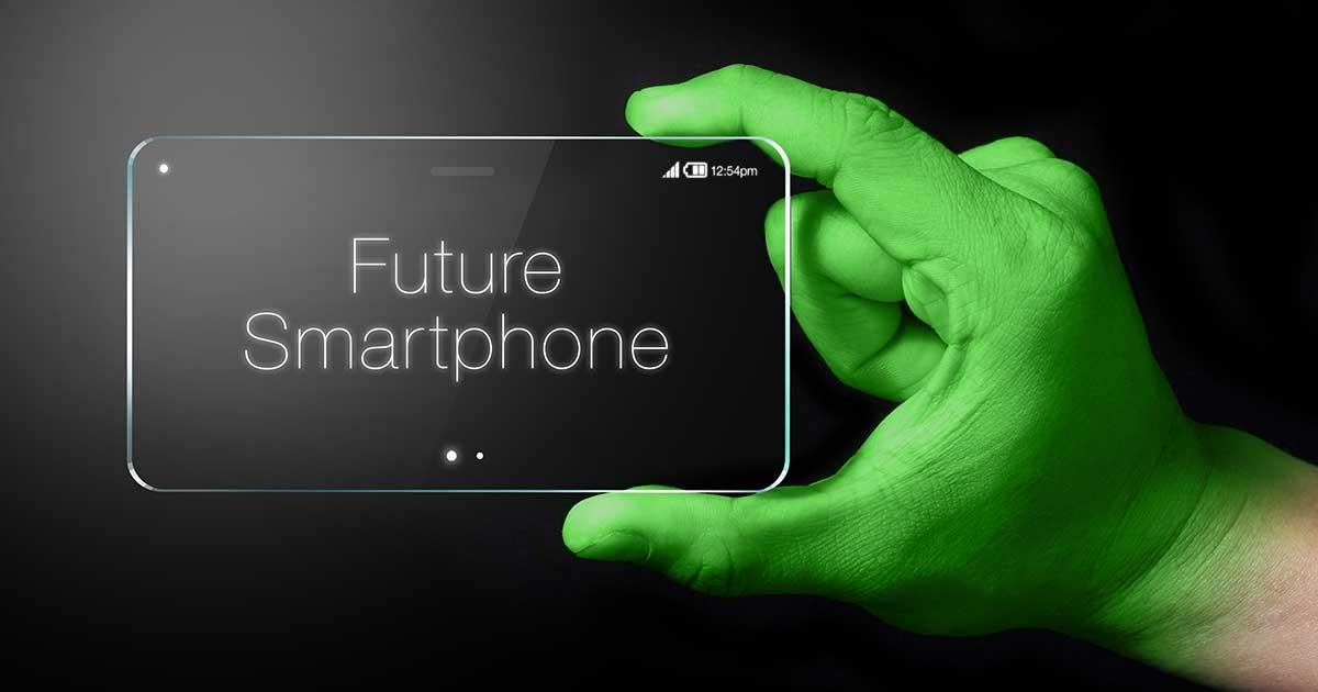 Studie: Sieht so das Smartphone der Zukunft aus?