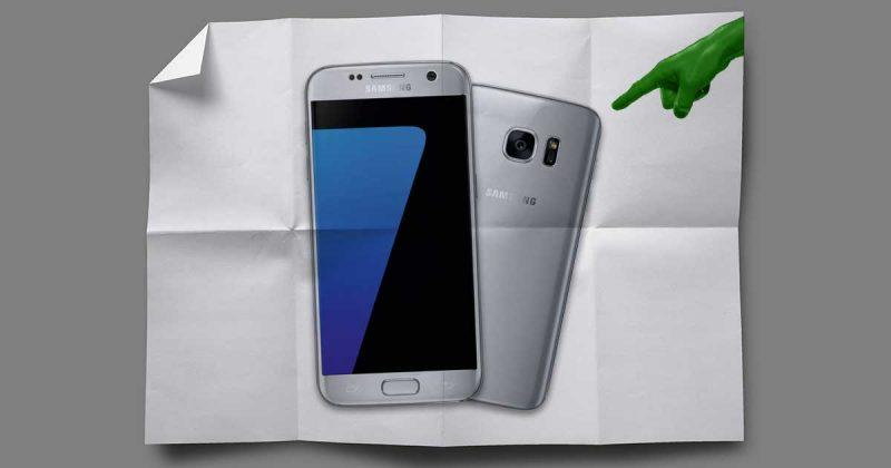 Samsung: Faltbares Smartphone ab Ende 2017