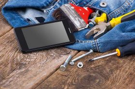Smartphone Werkzeug