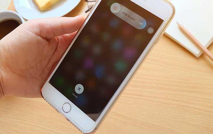 Smartphone ausschalten