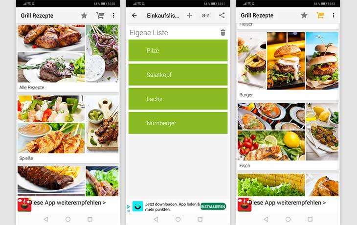 Grill Rezepte BBQ Screenshots