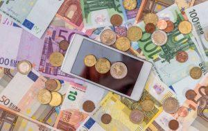 Geld Smartphone