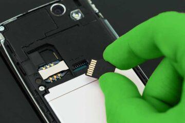 microSD in Smartphone