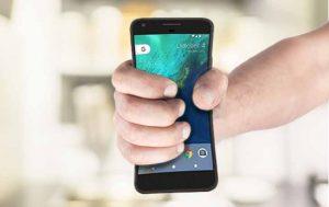 Pixel Smartphone Edge Sense