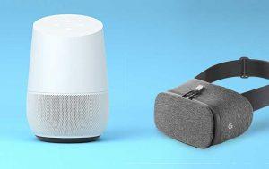 Google Home und Daydream View