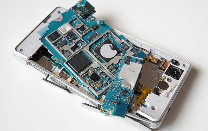 Gold in Smartphones