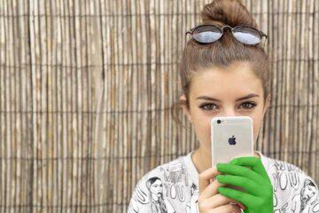 iPhone Teenager