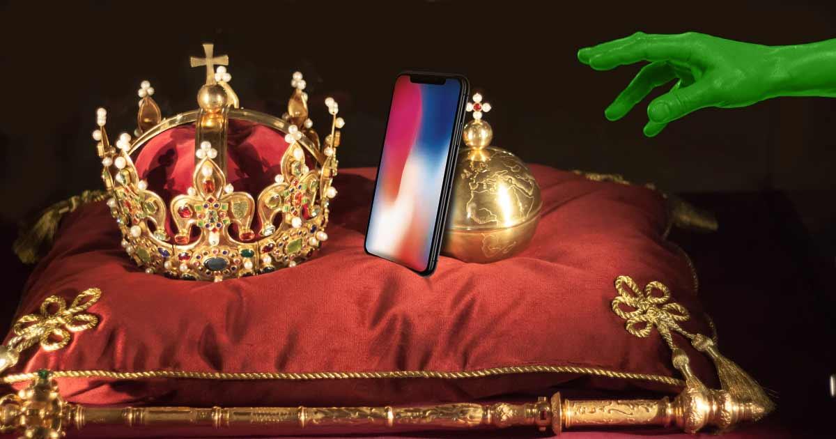 iPhone X Krone
