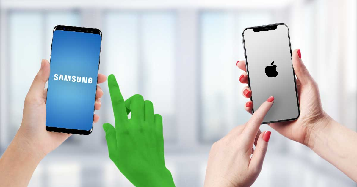 iPhone vs. Galaxy S