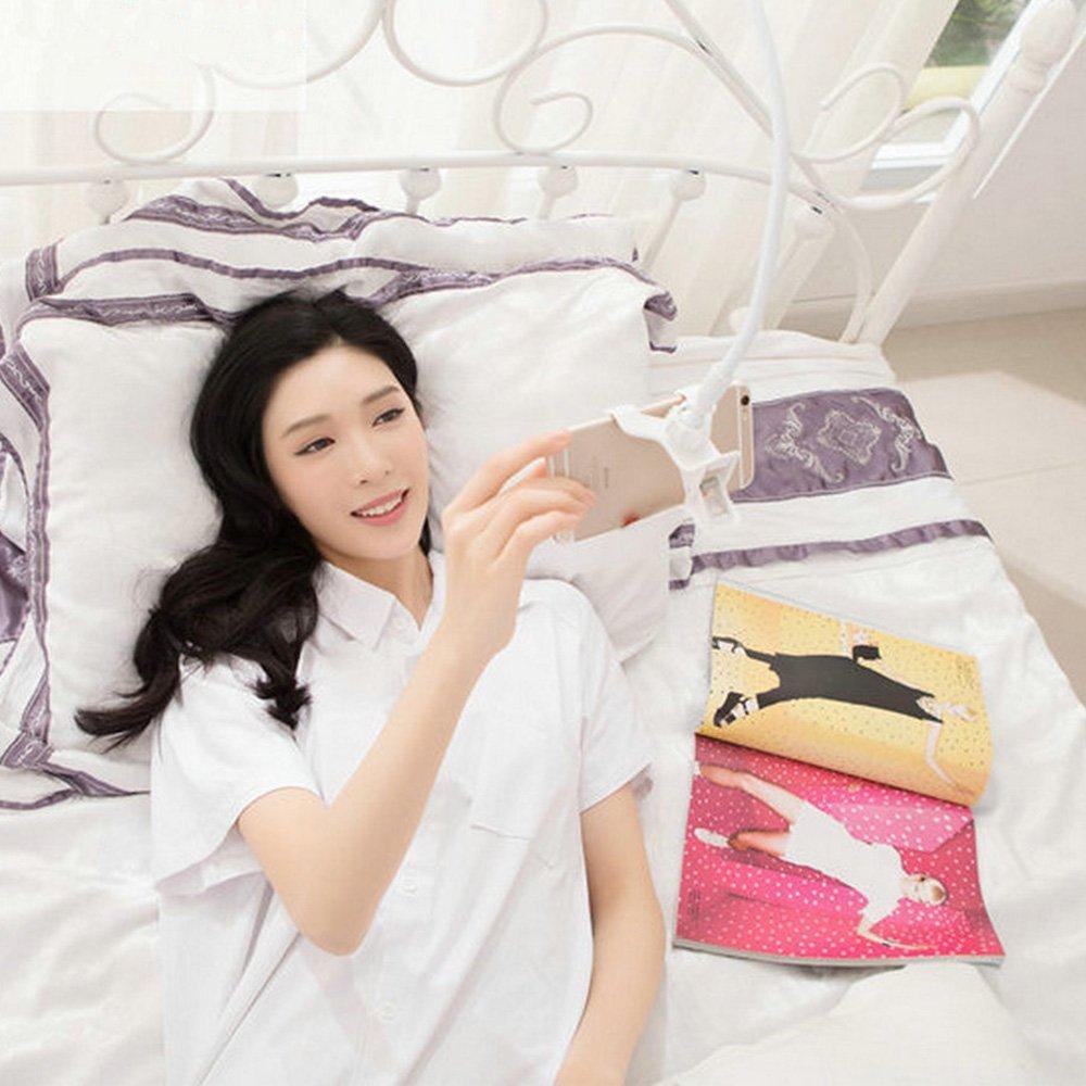 Mit der Handyhalterung gemütlich im Bett liegen bleiben