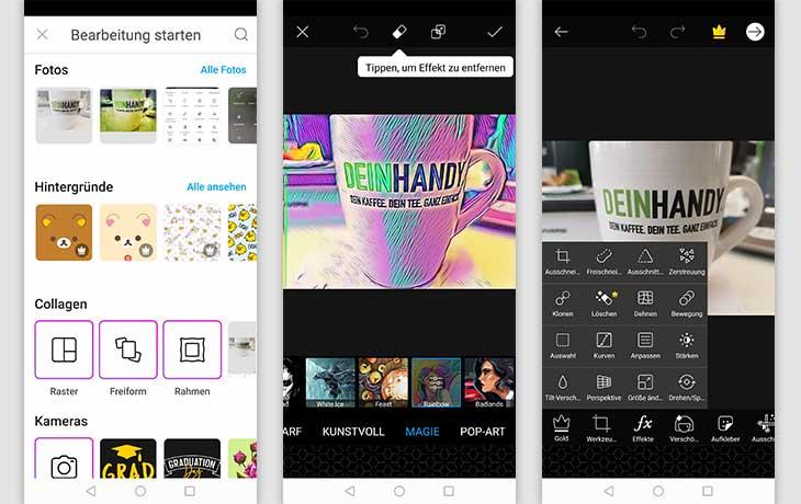 Bildbearbeitung Apps Die 3 Besten Foto Apps Fur Dein Smartphone