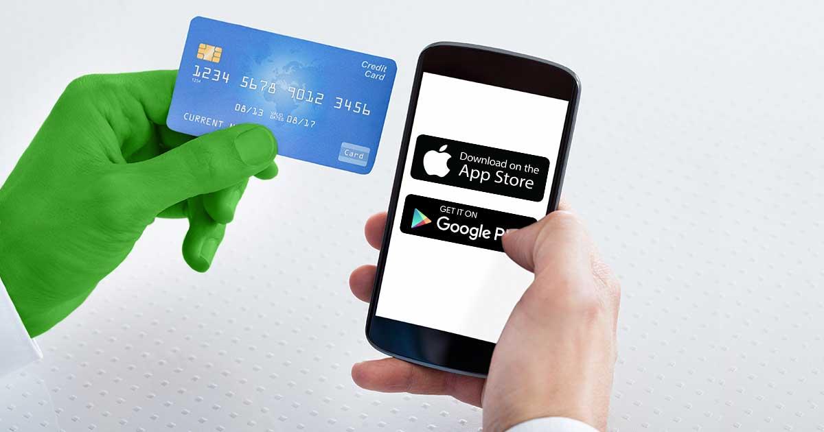 Im Appstore bezahlen