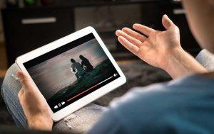 Schlechtes Netz, Video auf Tablet wurde unterbrochen