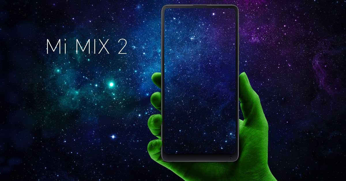 Xiaomi Mi Mix2 mit Vertrag bei DEINHANDY