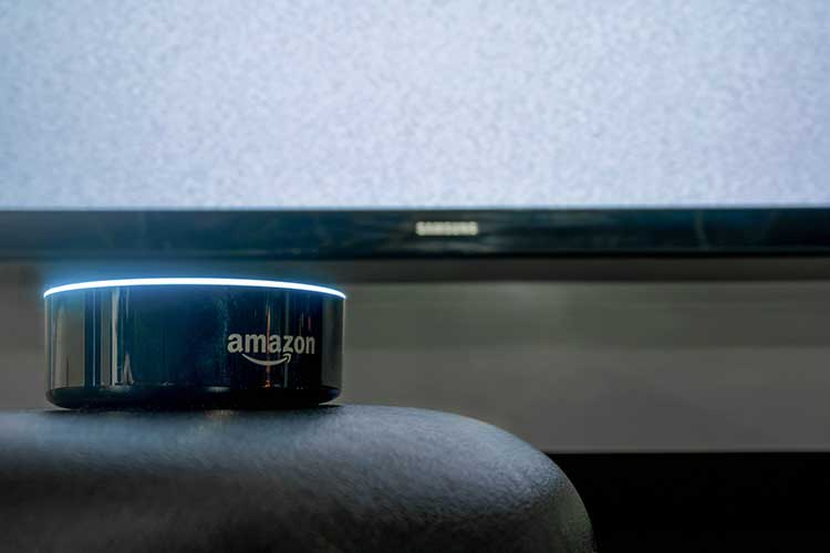 Amazon Echo Dot im Detail.