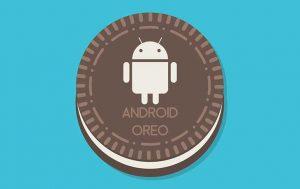 Comic Android Oreo auf Oreo Keks