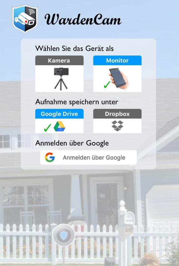 Screenshot WardenCam
