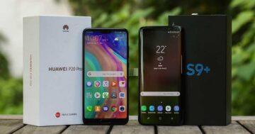 Samsung Galaxy S9 vs. Huawei P20: Duell der Smartphone-Giganten