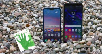 Samsung Galaxy A6+ vs. Huawei P20 Lite: So gut ist die neue Mittelklasse