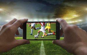 Fußball Stream auf dem Smartphone