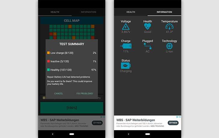 Battery Life Pro Screenshots