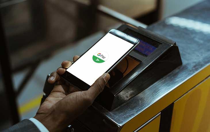 Google Pay kontaktlos bezahlen