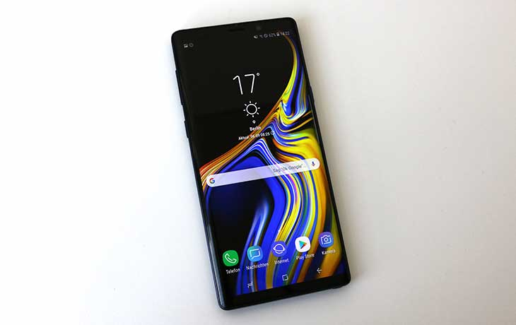 Note9 Front