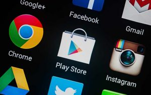 Play Store App auf Android-Smartphone