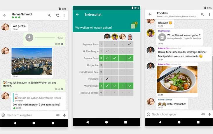 WhatsApp-Alternative Threema