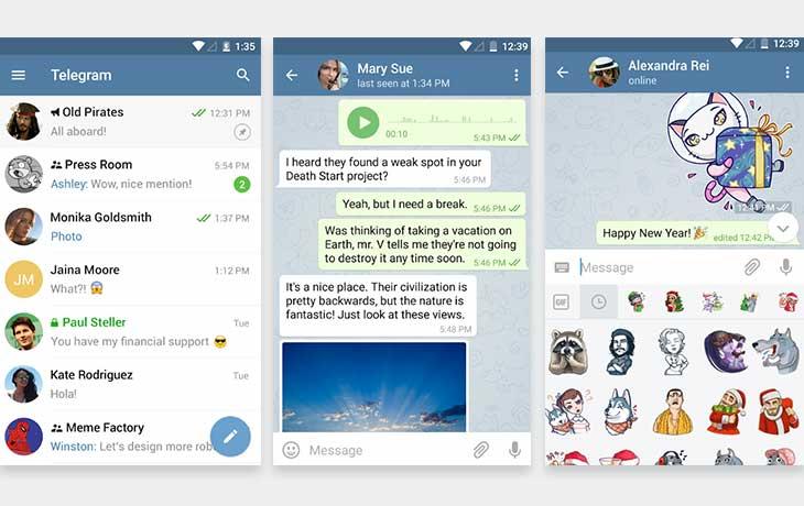 WhatsApp-Alternative Telegram