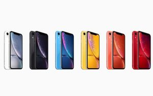Farbpalette iPhone Xr