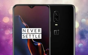 Notch OnePlus 6T