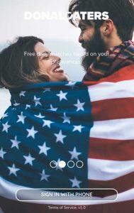 Startseite Trump App