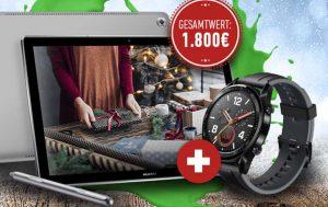Adventskalender Gewinnspiel erste Runde, Gewinne von Huawei
