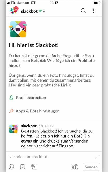 Slack: 5 Tipps Slack-Bot
