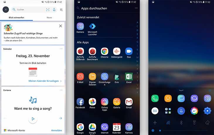 Microsoft Launcher Screenshots
