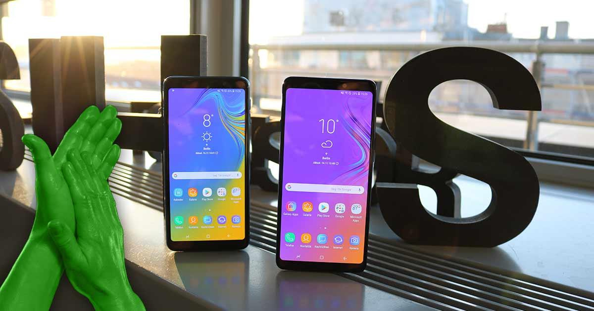 Samsung Galaxy A9 vs Galaxy A7