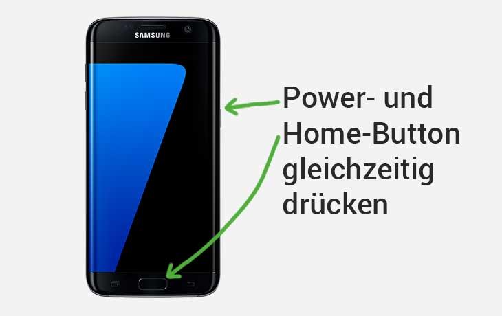 Screenshot Samsung Galaxy S7