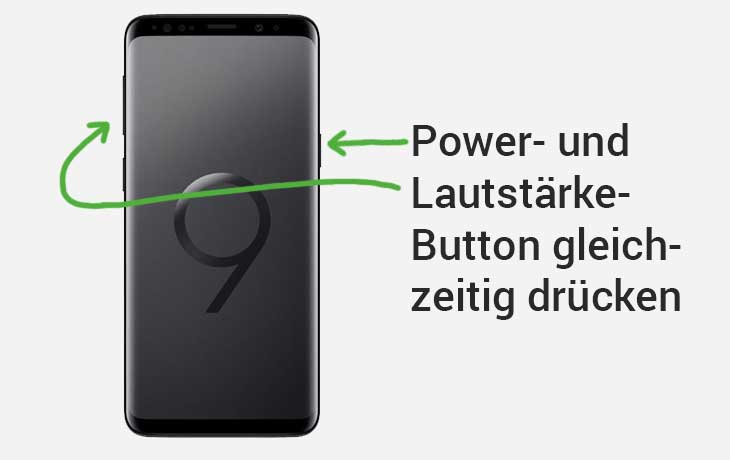 Screenshot Samsung Galaxy S9