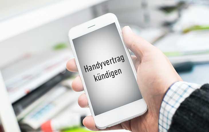 Handyvertrag Kündigen Kündigung Vorlage Für Alle Anbieter