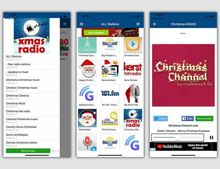 Weihnachtslieder: 3 beste Apps